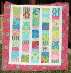 Charmingly Sashed Charm Pack Quilt Pattern on Craftsy
