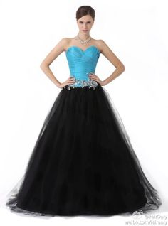 Faironly black blue organza evening dress bridesmaid gown party prom custom