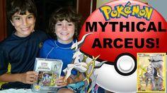 #VIDEO: #Pokemon Mythical Arceus Box Opening! Generations Cards - Jenna Em Channel  WATCH: https://youtu.be/ESFLlIaSaoc #Pokemon20
