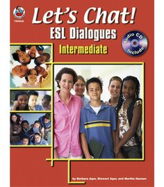 Let's Chat! ESL Dialogues Resource Book - Carson Dellosa Publishing Education Supplies #CDWishList