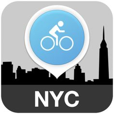 NYC Bike App designed by Raquel Román Parrado. Connect with them on Dribbble; Launcher Icon, Nyc, App Icon, User Interface, Ui Design, Bike, Icons, Apps, Rome