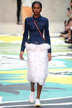 London Fashion Week Day 4  Burberry Prorsum Spring/Summer 2015  Ready to wear  15 September 2014