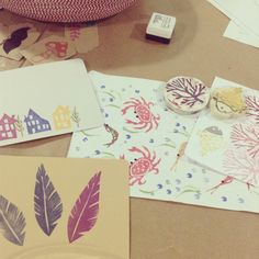 Our stamp #workshop today ;)