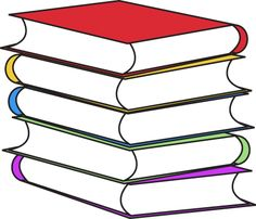 Stack of Books Clip Art - Stack of Books Image