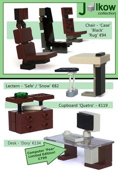 Amazing furniture ideas by Jalkow. And he's posted them as a furniture catalog…