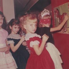 Remember when birthday parties looked like this? Used to be a major event. Wanted to wear your Sunday best!!!!
