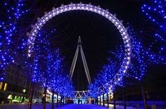 Eric wants to ride on the London Eye.  I want to ride too.