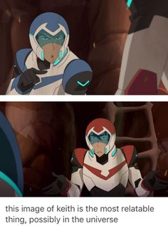 KEITH'S EXPRESSION IS EVERYONE LOOKING AT LANCE WHEN HE FLIRTS WITH ALLURA