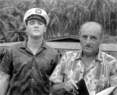 Elvis on the Blue Hawaii set in april 1961 .