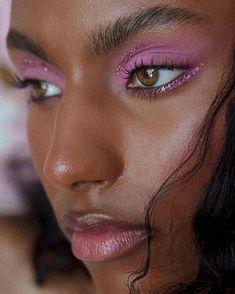 Cute Makeup Looks, Makeup Eye Looks, Creative Makeup Looks, Eye Makeup Art, Glam Makeup, Pretty Makeup, Skin Makeup, Beauty Makeup, 80s Makeup