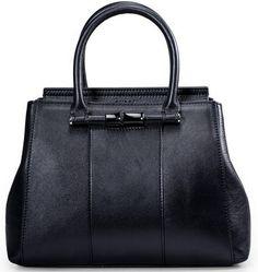 54e0209ceea Gucci Lady Bamboo Leather Top Handle Bag 370816 Black