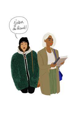 Faux Fur In December. Sanaa K
