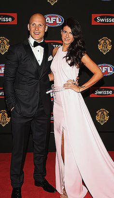 Brownlow 2013 Red Carpet Hits and Misses- Gary Ablett and Jordan Papalia