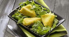 Croquettes de camembert, salade de roquette, Voir la recette des Croquettes de…