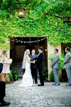 Kenwood inn Sonoma. I like outside ceremony & reception area. Has pool. 58 ppl can stay there for wedding
