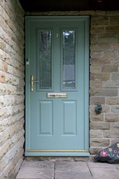 Image result for front door square leaded glass chartwell green | Front doors | Pinterest | Lead glass Front doors and Doors & Image result for front door square leaded glass chartwell green ...