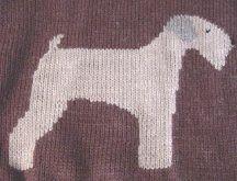 Kanine Knits soft coated wheaten terrier