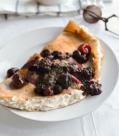 Gluten-Free Tuscan Chestnut Crepes Recipe - RecipeChart.com