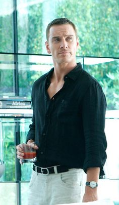 Michael Fassbender in The Counselor. Enough with the shirt! Take it off!