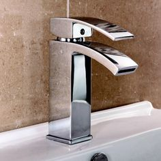 £44.95  Summit Mono Basin Mixer with Waste - Chrome Profile Large Image