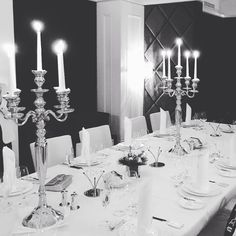 Let the magic begin 💫 Table Settings, Chandelier, Magic, Ceiling Lights, Candles, Dinner, Lifestyle, Lighting, Home Decor