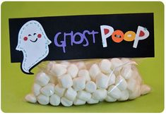 Ghost Poop--I like simple. :)
