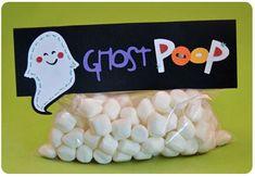 Ghost Poop- Ha ha My boys would love this!