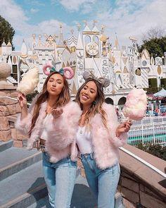 jessthrowiton haleemckenzie twinning in our Away We Go Jacket Disney World Pictures, Cute Disney Pictures, Cute Friend Pictures, Travel Pictures, Cute Disney Outfits, Disney World Outfits, Disneyland Photos, Disneyland Outfits, Disneyland Photography