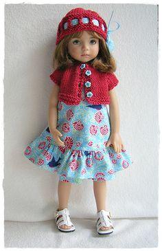 Little Darling in Blue Bird dress   Flickr - Photo Sharing!
