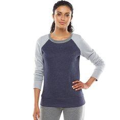 Tek Gear® Fleece Raglan Sweatshirt - Women's