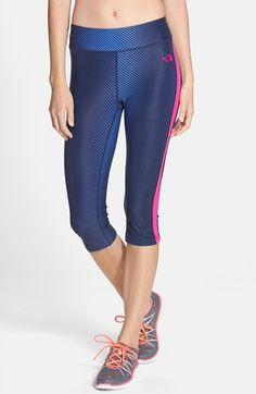 The+North+Face+'Pulse'+Compression+Capri+Tights+available+at+#Nordstrom