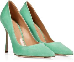 not really a must but two other colors of high heels are nice. I like this and something in a red. Tend to be used for more casual and summer looks.