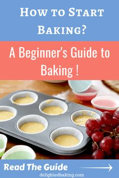 Want to learn baking? Here's an easy beginner's guide to baking. Learn the basics of baking with the help of this easy baking guide.