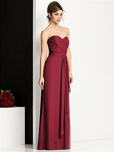 After Six Bridesmaids Style 6679, by Dessy, claret, $215 on shopjoielle.com