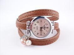 Armbanduhr*Wickeluhr   U16 von tinas_schmucktruhe auf DaWanda.com