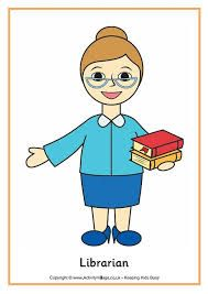 Image result for librarian cartoon drawings
