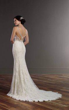 Wedding Gowns 845 Vintage Inspired Wedding Dress by Martina Liana Vintage Inspired Wedding Dresses, Dream Wedding Dresses, Wedding Gowns, V Neck Wedding Dress, Amazing Wedding Dress, Dress Prom, Martina Liana, Vintage Inspiriert, 1920s Dress