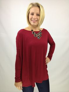 Red Piko Top – D. Bradley & Company, Inc $29.99 www.shopdbradley.com