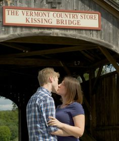 Kissing Bridge Vermont Vermont Country ...