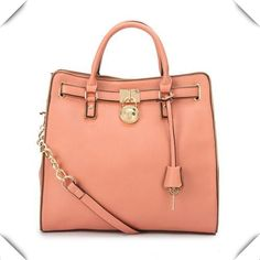 eb1a40dc5af16f Michael Kors Hamilton Specchio Large Pink Totes Collection, the greatest  discount, 70% off