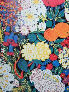 josef frank I really like the layering in the design Design Textile, Design Floral, Motif Floral, Art Design, Textile Prints, Textile Patterns, Print Patterns, Floral Prints, Design Ideas