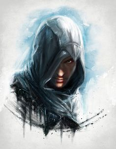 assassins creed illustration oil painting cool Characters