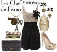 Disneybound: Les Chefs de France restaurant in the France Pavilion (Epcot) at Walt Disney World