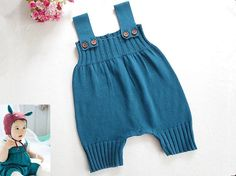 Romper - Knit Baby Romper