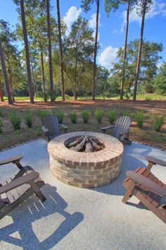 Palmetto Bluff Home and Guest House - traditional - patio - other metro - Ellis Construction Co., Inc.