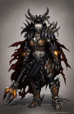 Lady Deathwing concept by zachfischerart on Etsy