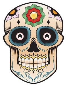 Day of the Dead - Sugar Skull by Mike Morris