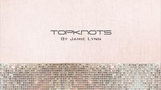 Beautiful Wedding Updo's and turtorials!   Topknots by Jamie Lynn