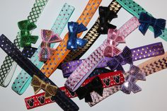 Ten Variety Sequins by LilyNRoseHeadbands on Etsy, Baby Headbands, Playing Cards, Sequins, Stuff To Buy, Etsy, Playing Card Games, Cards, Kids Headbands, Game Cards