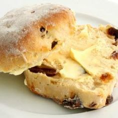 Mmmm, date scones. Reminds me of NZ... 2 & 1/3 cups flour 2 tbsp sugar 1 tsp salt (sift together) 3 tbsp butter (crumb with fingers + flour, etc) add dates 1/2 cup whipping cream 1 egg (lightly whisk, drop in flour well) *Bake 350, 12-15min